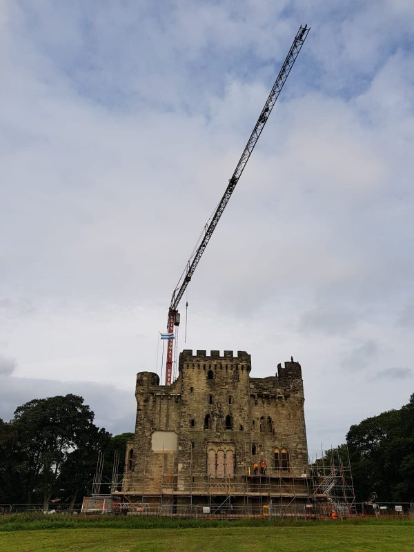 Bryn Thomas Crane Hire Spierings Mobile Tower Crane
