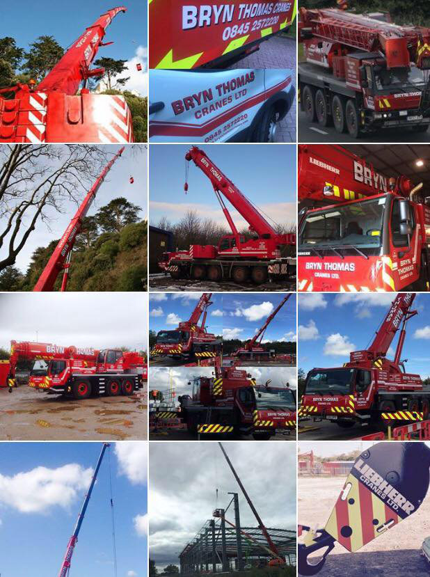About Us at Bryn Thomas Crane Hire
