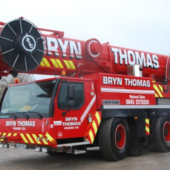 Crane Hire at Bryn Thomas Cranes
