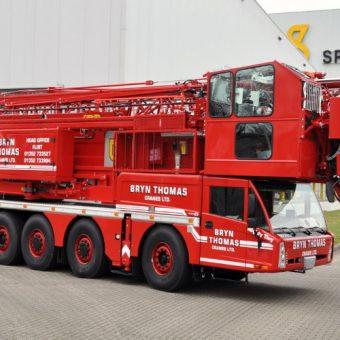 60 metres Spierings sk1265 at6 mobile tower crane