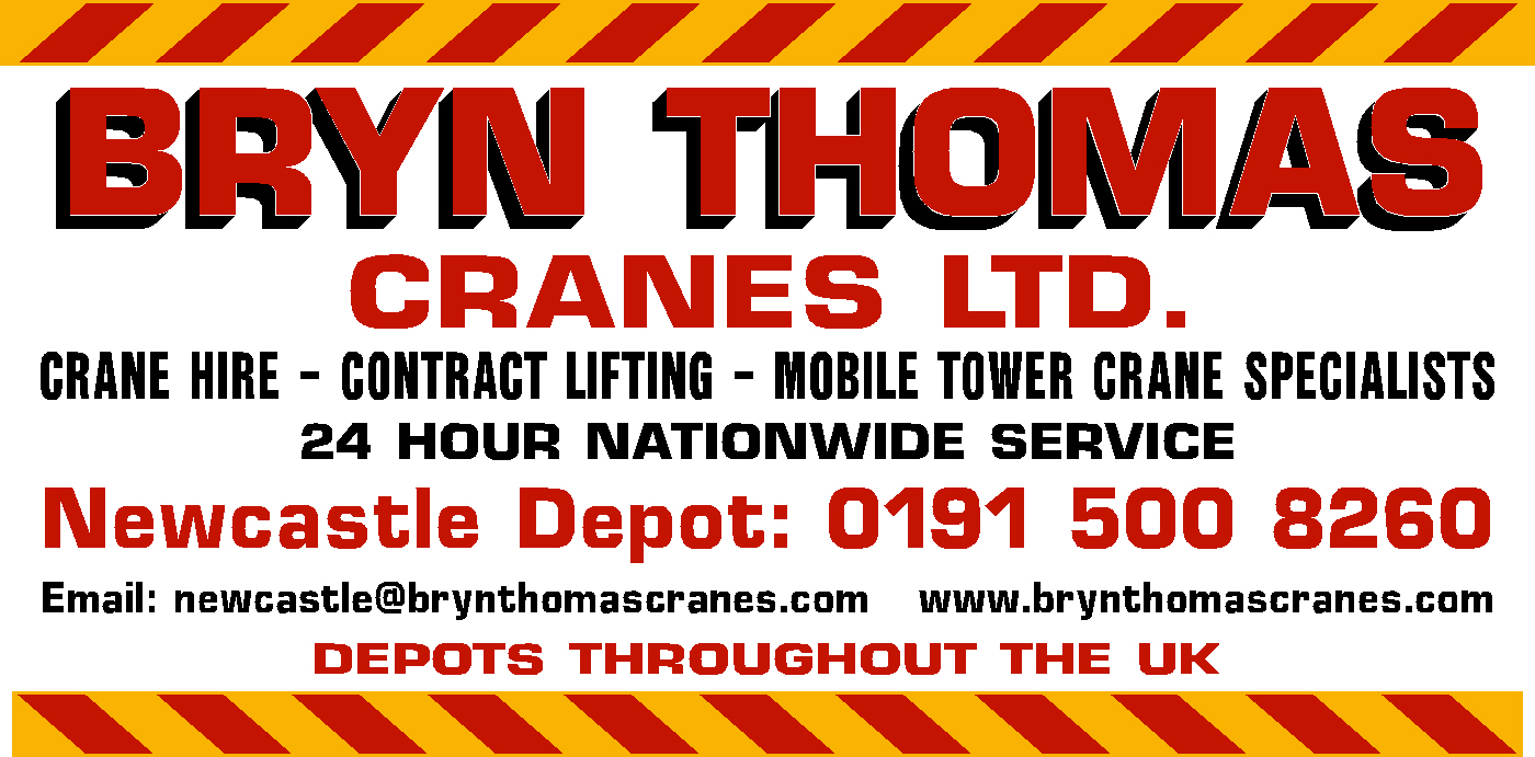 Crane Hire Newcastle Sign