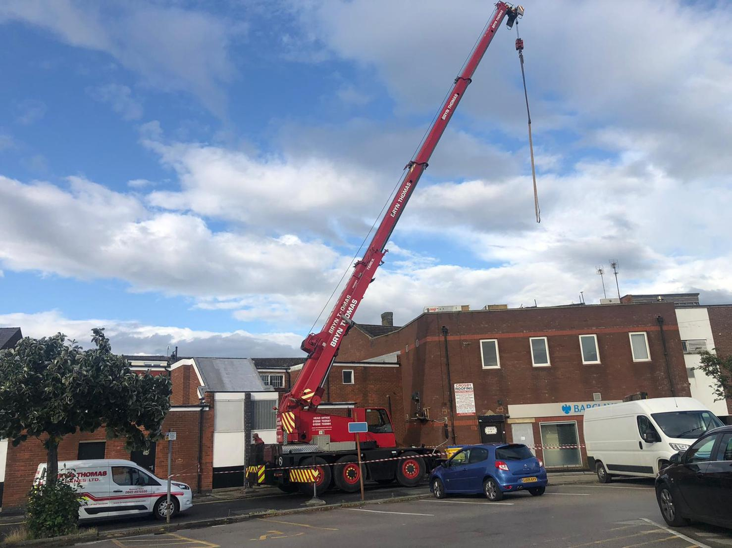 Crane Hire in North West