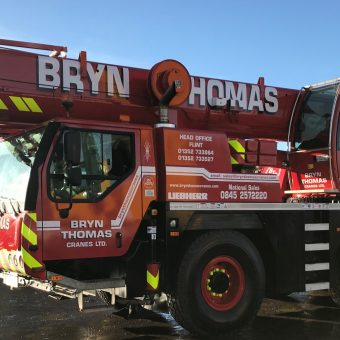 55t Liebherr Fleet at Bryn Thomas Crane Hire