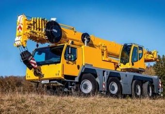 Small Crane Hire Fleet Truck