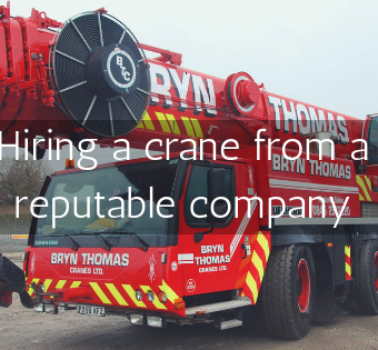hiring-a-crane-from-a-reputable-company