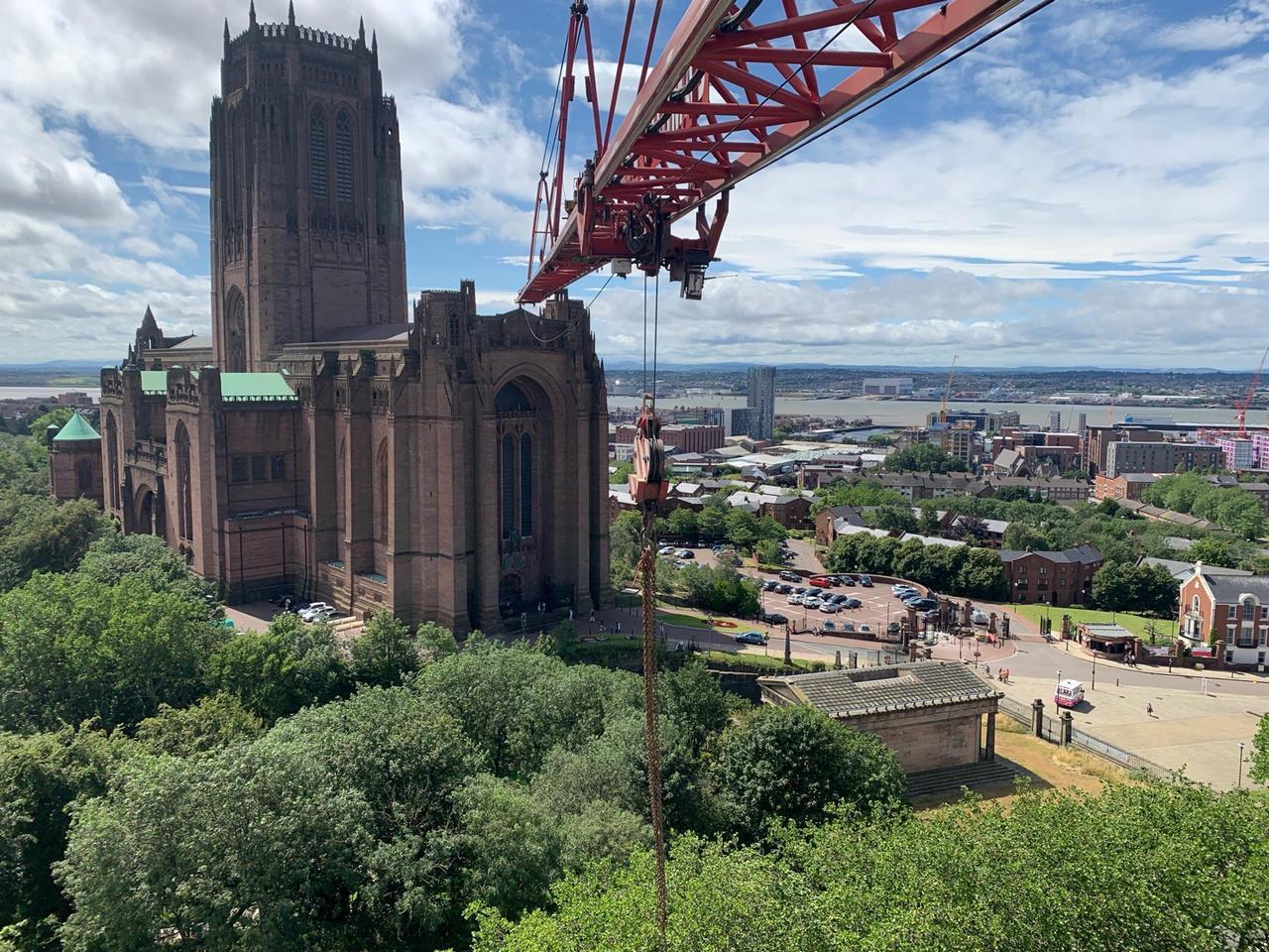 Crane Hire Liverpool