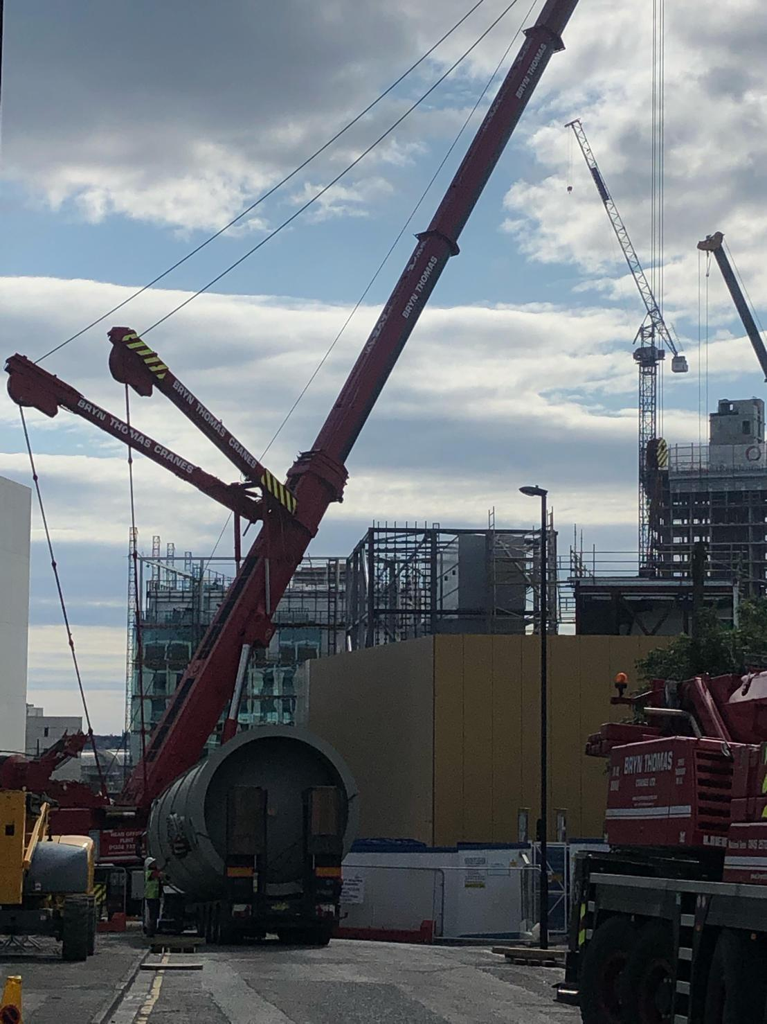 Crane Hire Newcastle & Mobile Crane Hire in Newcastle Upon Tyne