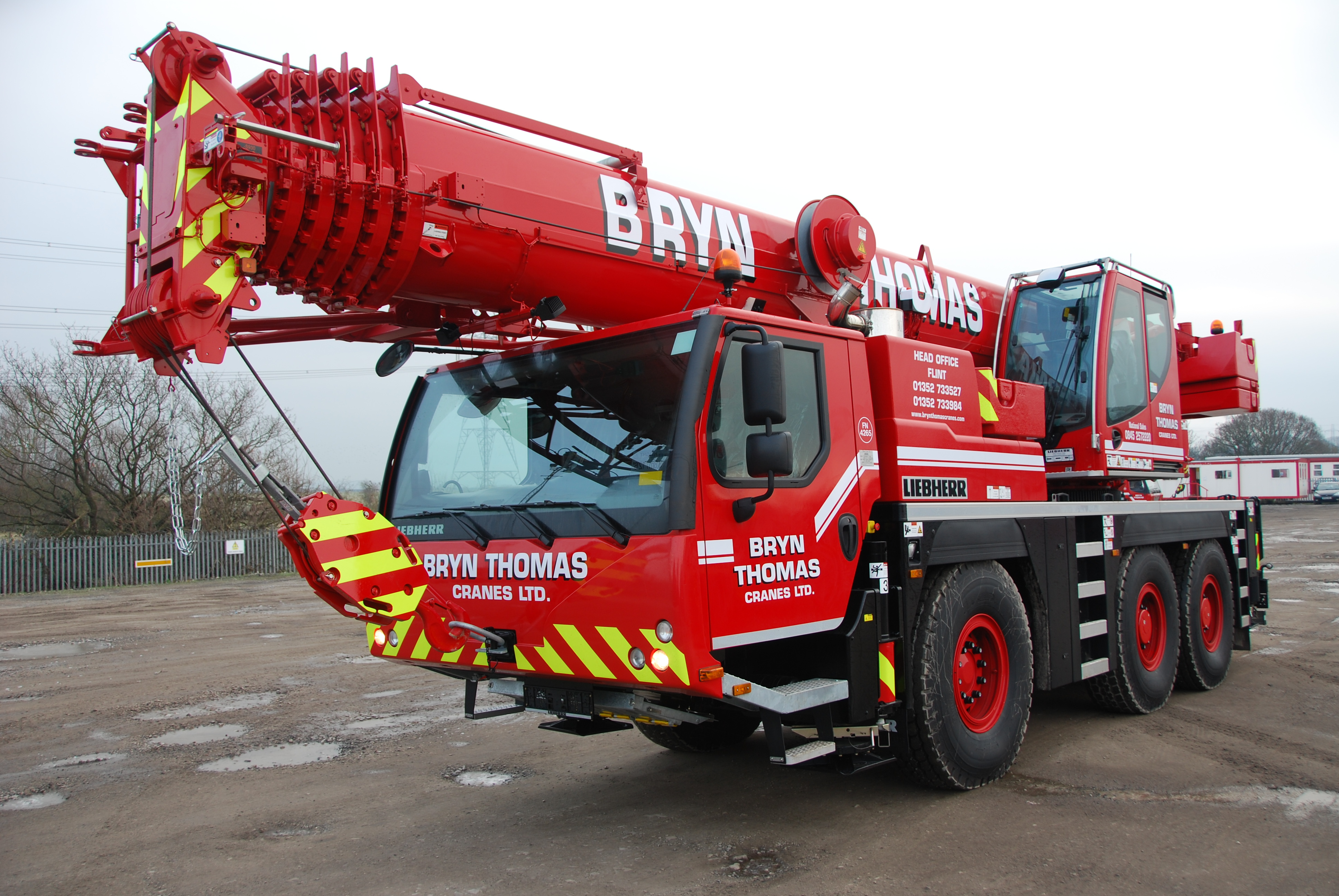 One of our Fleet at Bryn Thomas Crane Hire