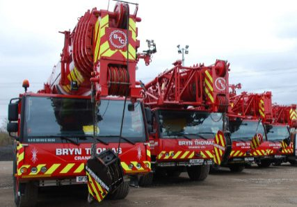 Crane Hire in Swansea from Bryn Thomas Cranes